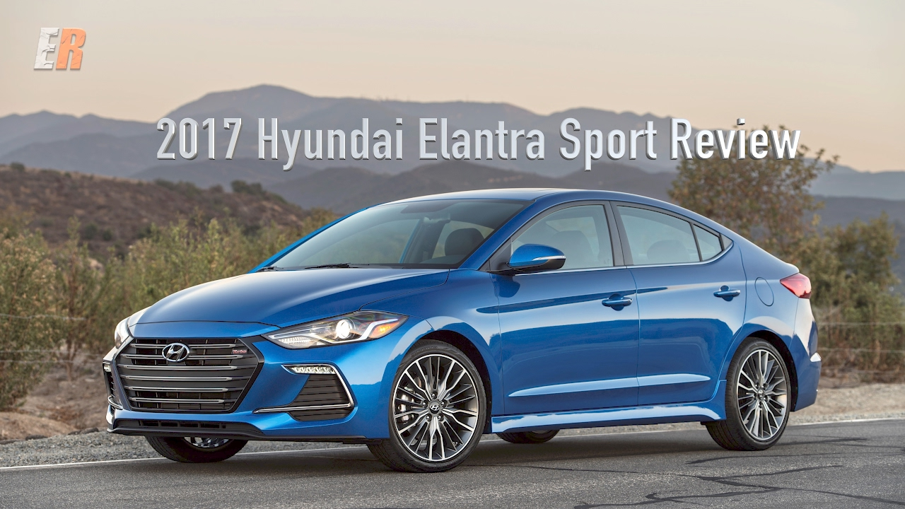 2017 hyundai elantra sport review look out honda civic youtube. Black Bedroom Furniture Sets. Home Design Ideas