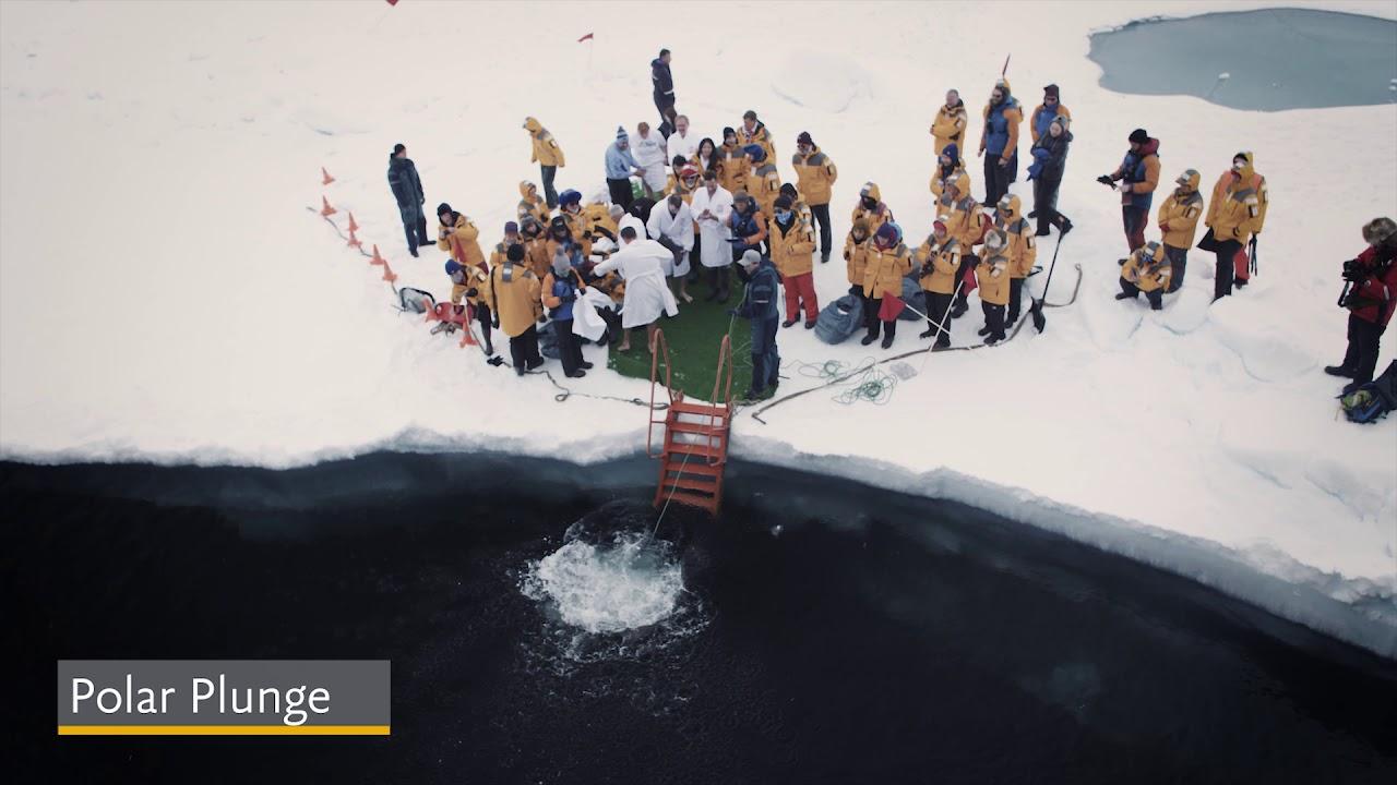 【動画】クォーク社の南極でのアクティビティ/南極クルーズ