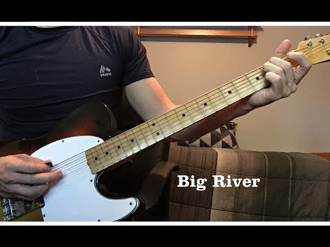 Big River by Johnny Cash - Luther Perkins Instrumental