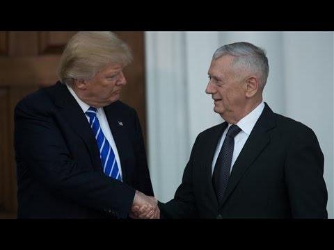 Donald Trump Picks Gen. Mattis for Defense Secretary