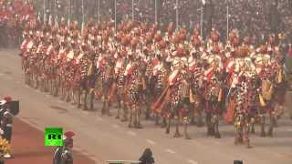 В столице Индии прошел военный парад