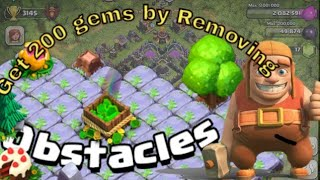 How much gems we can earn by removing obstacles🤔🤔