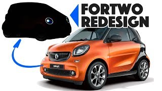 Smart ForTwo Re-design: From Fat to Funky