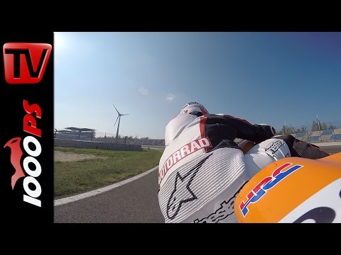 Honda CBR1000RR Fireblade SP Onboard  | Superbike Vergleichstest 2015