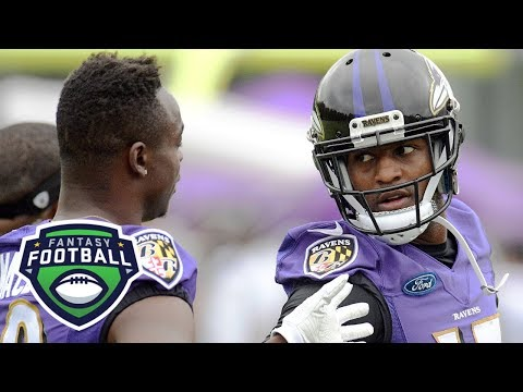Jeremy Maclin Or Mike Wallace: Who's The Better Fantasy WR For Ravens? | Fantasy Focus | ESPN