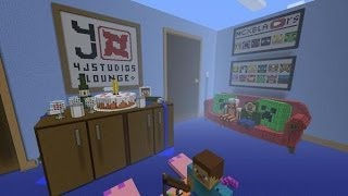 minecraft xbox 4j studios lounge hunger games
