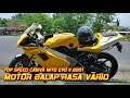 Top Speed Cagiva Mito Evo2, Motor Balap Rasa Vario || Aji VAS