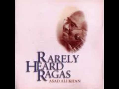Asad Ali Khan (2)  Dhrupad - Raga Bhinna-Sadja