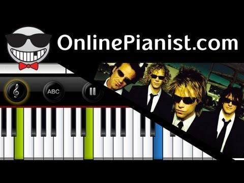 Bon Jovi - Always - Piano Tutorial