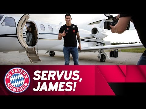 James Rodríguez Arrives in Munich!