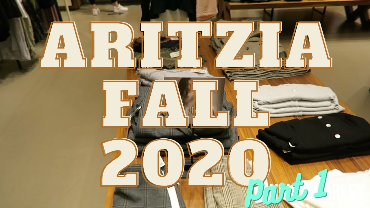 Aritzia Fall 2020 Collection| Try ON Part 1!