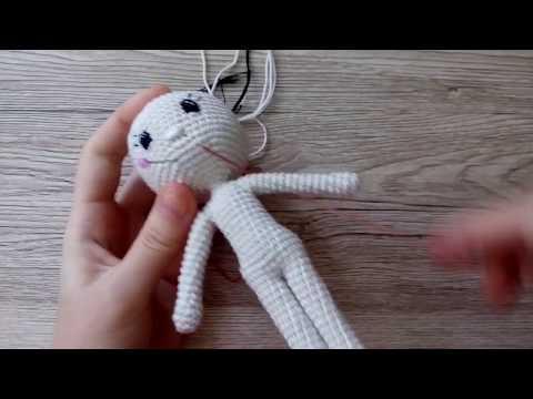 Как оформить лицо вязаной кукле