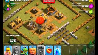 Clash of Clans Level 15 - Immovable Object