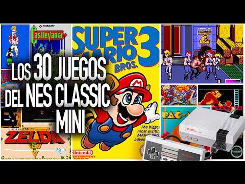 Los 30 Juegos Del Nes Classic Mini Youtube
