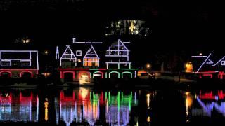 Boathouse Row Panorama / Silent Night (fingerstyle guitar / Chet Atkins arrangement)