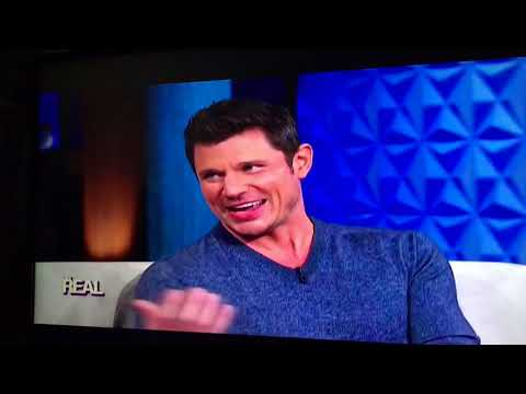 Nick Lachey on The Real - 10-30-17 (prt 1)
