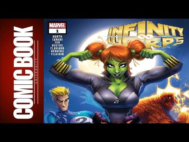 Infinity Wars Infinity Warps #1 | COMIC BOOK UNIVERSITY