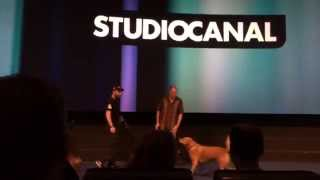 Tom Hardy's Dog Woody Steals the Show at London Legend Screening
