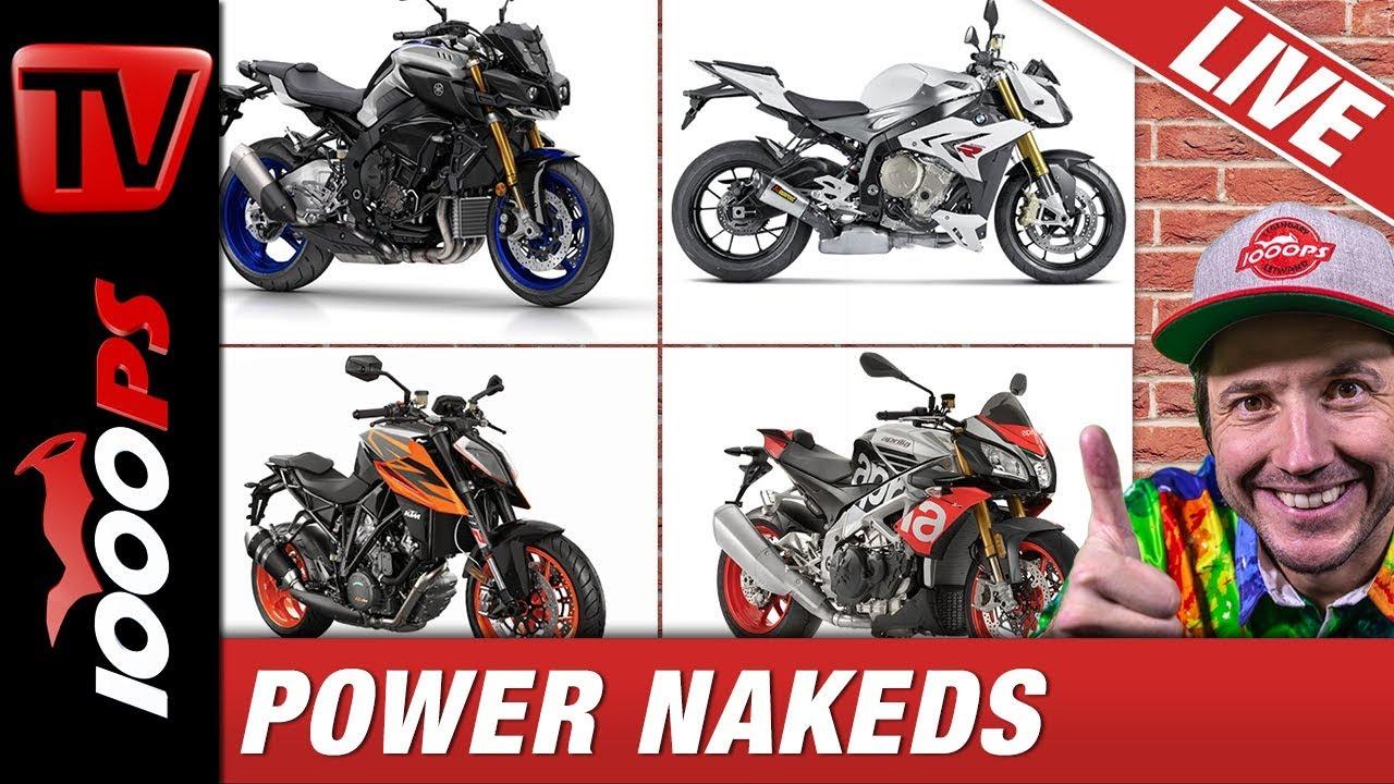 video welches ist das beste power nakedbike. Black Bedroom Furniture Sets. Home Design Ideas