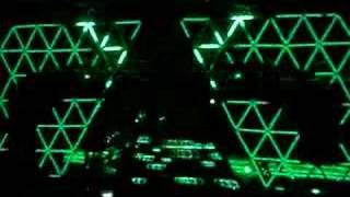 Daft Punk Brisbane insane pyramid effects and good quality