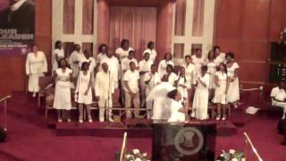 """Sis.Tawanda Williams sings """"My God is Standing By"""""""