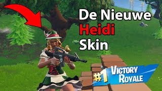 Temporada 6 ¡The New Heidi Skin: Fortnite Battle Royale!