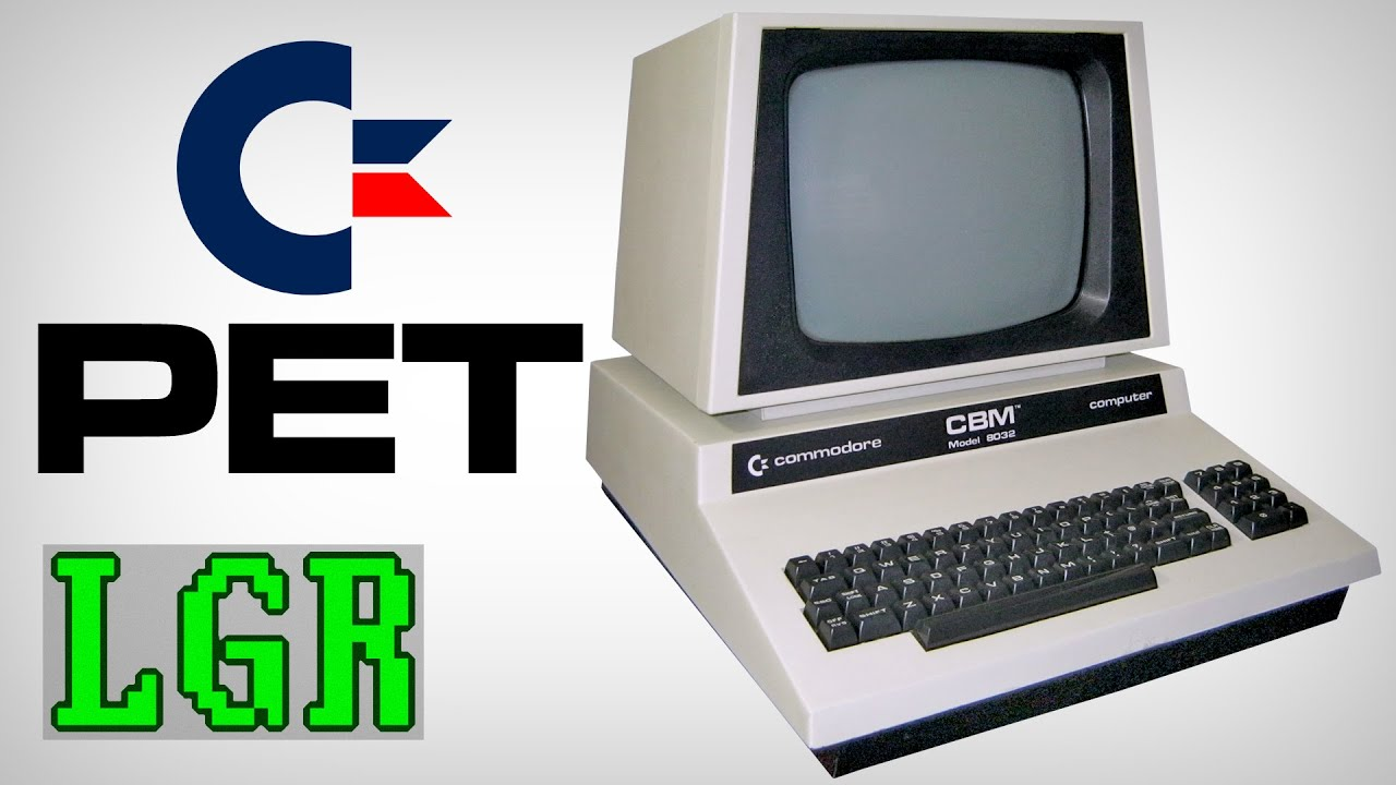LGR - Commodore PET Computer System Review - YouTube