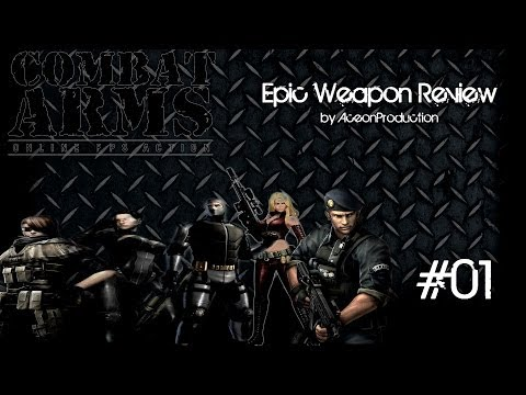 Combat Arms EU Epic Weapon Review Movie 01 || Aceon [German]