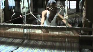 Handloom weaving process