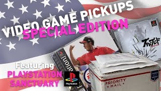VIDEO GAME PICKUPS #3 - Special Edition ft. PLAYSTATION SANCTUARY CHANNEL