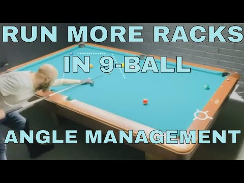 How to run more racks in 9-ball pool - Improve Your Pool Game Fast!