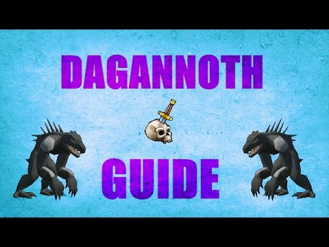 Dagannoth Slayer Guide 2007 Old school Runescape ( OSRS )