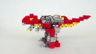 Apprendre à coder un robot éducatif avancé  - Le T-rex bipède