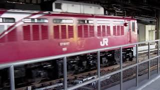 カシオペア紀行 青森行き発車を上野で撮影してみた