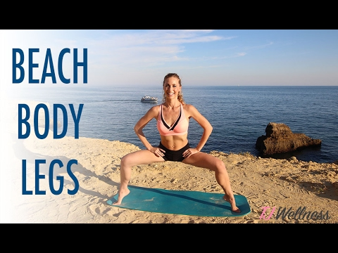 Beach Body Leg Workout - 10 minutes toned Legs | TJ Wellness