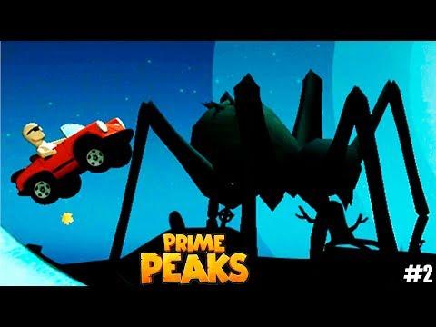 МАШИНКИ Prime Peaks #2 Хелуин Прохождение игры про машины для детей VIDEO FOR KIDS cars games