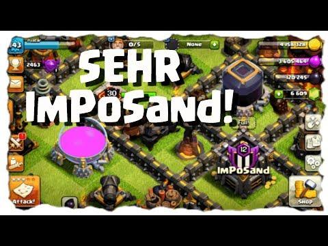 IMPOSAND! - CLANBESUCH | Clash of Clans Deutsch [German] | Let´s Play COC