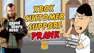 Grand Theft Auto IV Xbox Live Prank (ft. Buk Lau) - OwnagePranks