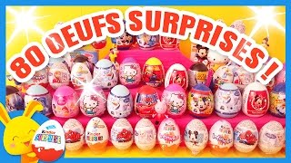 Oeufs surprise Kinder - Reine des neiges - Mickey - Cars - Princesses Disney -Infinimix - Kitty
