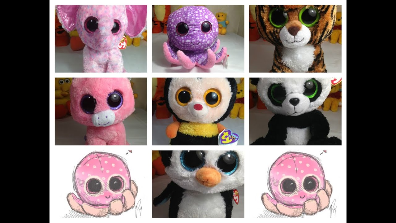 Collectible Beanie Boos By Ty - YouTube f8d24e25ea38