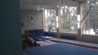 Ганжела Егор - на соревнованиях по акробатике