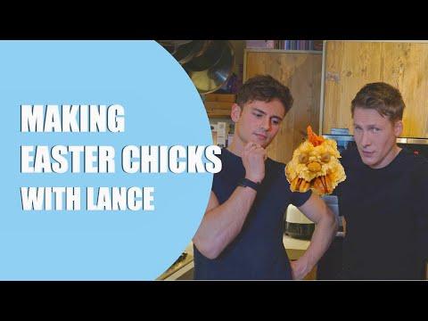 Tom and Lance Try Chicks for Easter! I Tom Daley