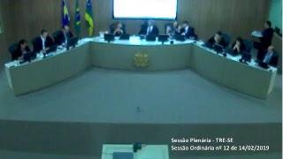 Transmissão na íntegra dos julgamentos do Tribunal Regional Eleitoral de Sergipe TRE-SE.