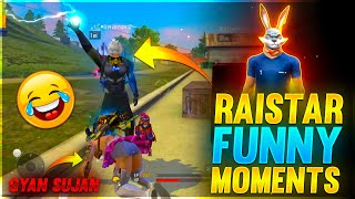 Raistar Funny Moments  | Garena Free Fire