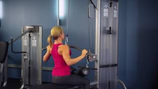 Lat Pulldown Life Fitness Optima