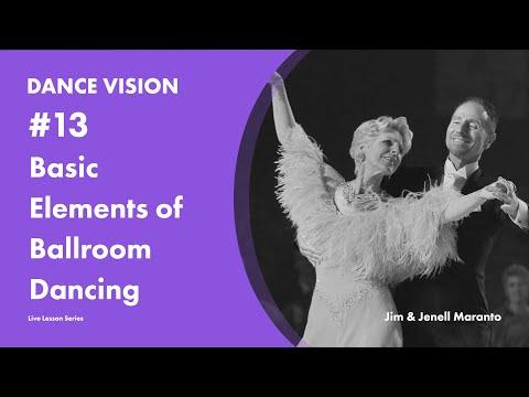 Basic Elements Of Ballroom Dancing With Jim & Jenell Maranto