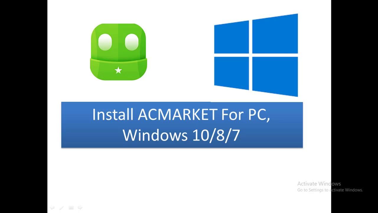 Acmarket APK on PC, Windows 10/8/7, Mac, iOS, iPhone