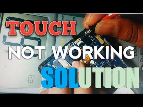Android mobile touch screen not working solution.