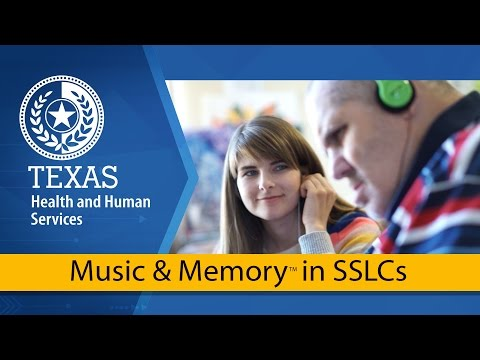 Music & Memory in State Supported Living Centers