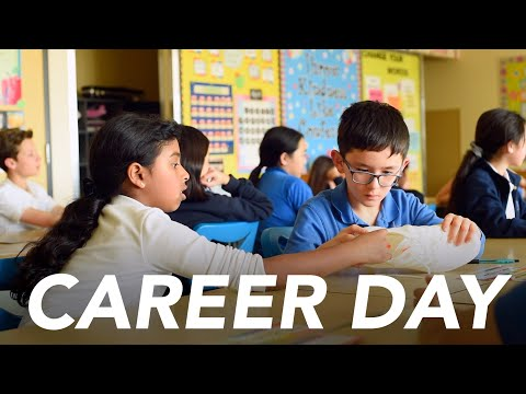 Career Day 2019 at Valley Catholic Elementary School